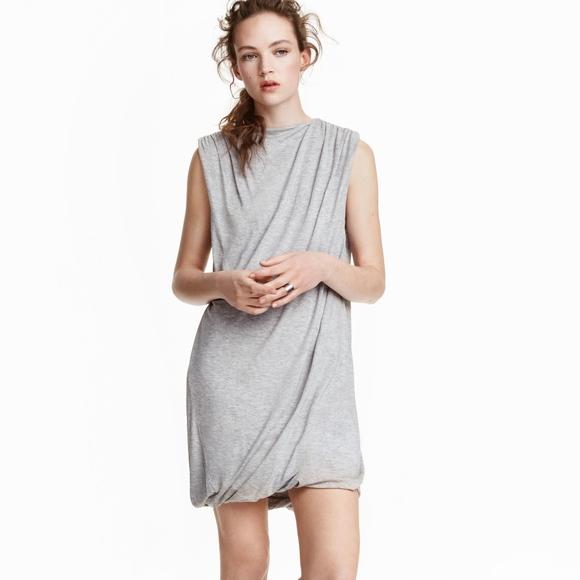 bf33e428c1201 H&M Dresses | Hm Trend Conscious Draped Lyocell Dress | Poshmark